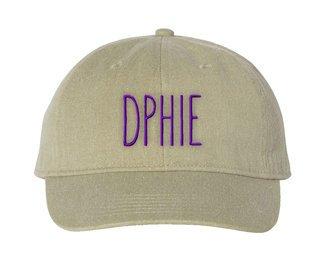Delta Phi Epsilon Mod Comfort Colors Pigment Dyed Baseball Cap