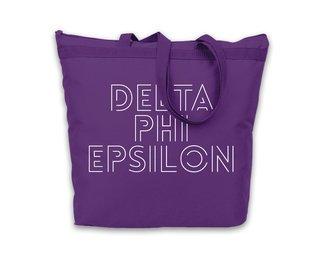 Delta Phi Epsilon Modera Tote