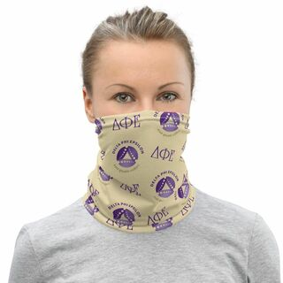 Delta Phi Epsilon Neck Gaiters