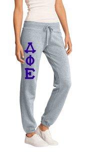 Delta Phi Epsilon Junior Core Fleece Pant
