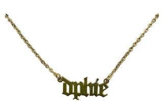 Delta Phi Epsilon Old English Necklaces