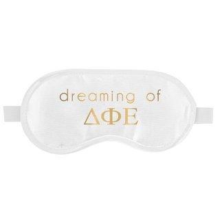 Delta Phi Epsilon Satin Sleep Masks