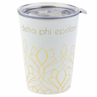 Delta Phi Epsilon Short Coffee Tumblers