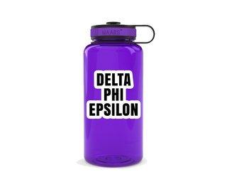Delta Phi Epsilon Simple Wide Mouth Water Bottle