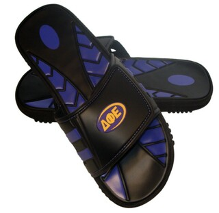 Delta Phi Epsilon Slide Sandals