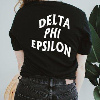 Delta Phi Epsilon Social Tee