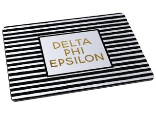 Delta Phi Epsilon Striped Mousepad
