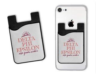 Delta Phi Epsilon Sun Card Caddy