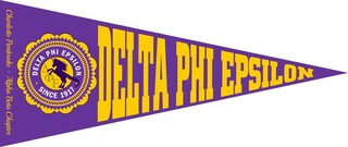 Delta Phi Epsilon Wall Pennants
