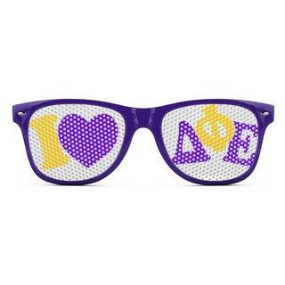 Delta Phi Epsilon Wayfarer Style Lens Sunglasses