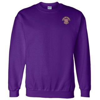 DISCOUNT-Delta Phi Epsilon World Famous Crest - Shield Crewneck Sweatshirt