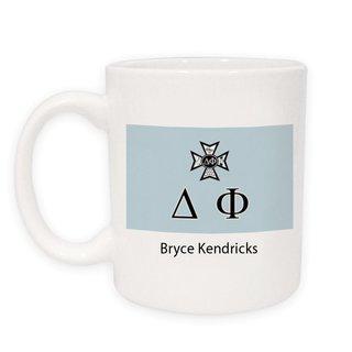 Delta Phi Flag Coffee Mug