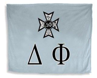 Delta Phi Flag Giant Velveteen Blanket