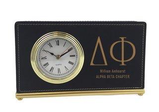 Delta Phi Horizontal Desk Clock
