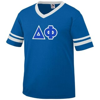 DISCOUNT-Delta Phi Jersey With Custom Sleeves