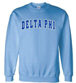 Delta Phi Letterman Twill Crew