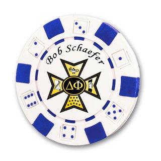 Delta Phi Poker Chips