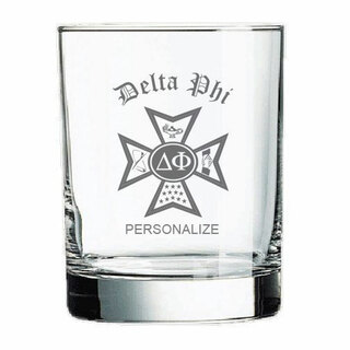Delta Phi Old Style Glass
