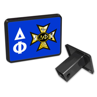 Delta Phi Trailer Hitch Covers