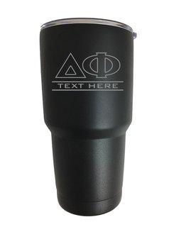 Delta Phi Vacuum Insulated Tumbler