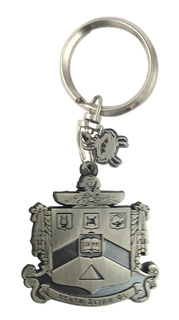 Delta Sigma Phi Alloy Keychains