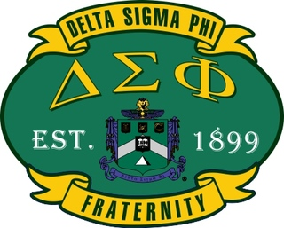 Delta Sigma Phi Banner Crest - Shield Decal