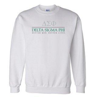 Delta Sigma Phi Better Men Better Lives Crewneck Sweatshirt