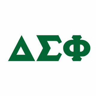Delta Sigma Phi Big Greek Letter Window Sticker Decal