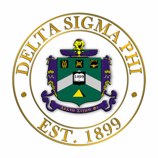 Delta Sigma Phi Circle Crest Decal