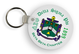 Delta Sigma Phi Color Keychains
