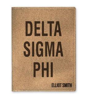 Delta Sigma Phi Cork Portfolio with Notepad