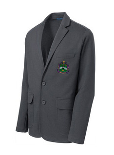 DISCOUNT-Delta Sigma Phi Crest - Shield Blazer