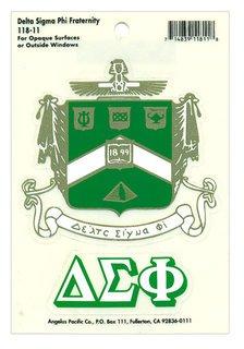 Delta Sigma Phi Crest Decal