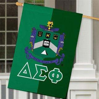Delta Sigma Phi Crest House Flag