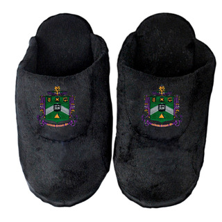 DISCOUNT-Delta Sigma Phi Crest - Shield Slippers