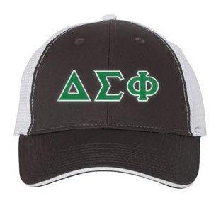 Delta Sigma Phi Double Greek Trucker Cap