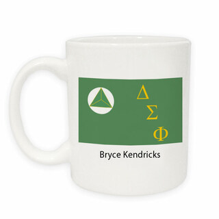 Delta Sigma Phi Flag Coffee Mug