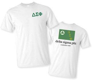 Delta Sigma Phi Flag T-Shirt