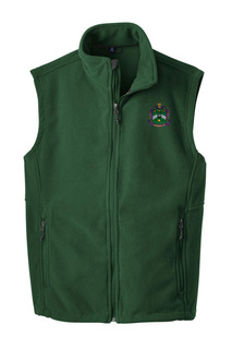 Delta Sigma Phi Fleece Crest - Shield Vest
