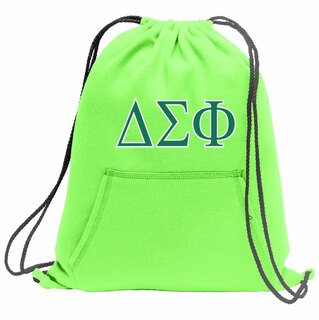 Delta Sigma Phi Fleece Sweatshirt Cinch Pack