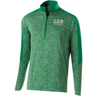 Delta Sigma Phi Fraternity Electrify 1/2 Zip Pullover