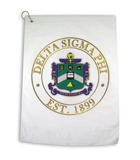 Delta Sigma Phi Giant Crest Golf Towel