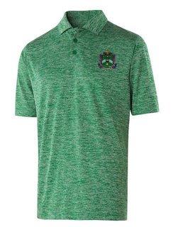 Delta Sigma Phi Greek Crest Emblem Electrify Polo