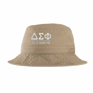 Delta Sigma Phi Greek Letter Bucket Hat