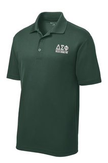 $30 World Famous Delta Sigma Phi Greek PosiCharge Polo