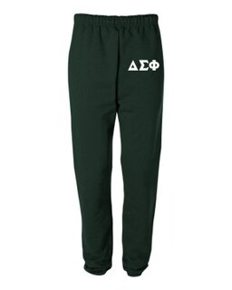 Delta Sigma Phi Greek Lettered Thigh Sweatpants