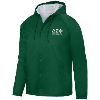 Delta Sigma Phi Hooded Coach's Jacket