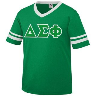 Delta Sigma Phi Jersey With Custom Sleeves