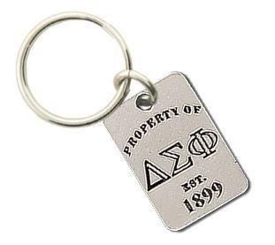 Delta Sigma Phi Keychains