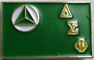 Delta Sigma Phi Lapel Pin